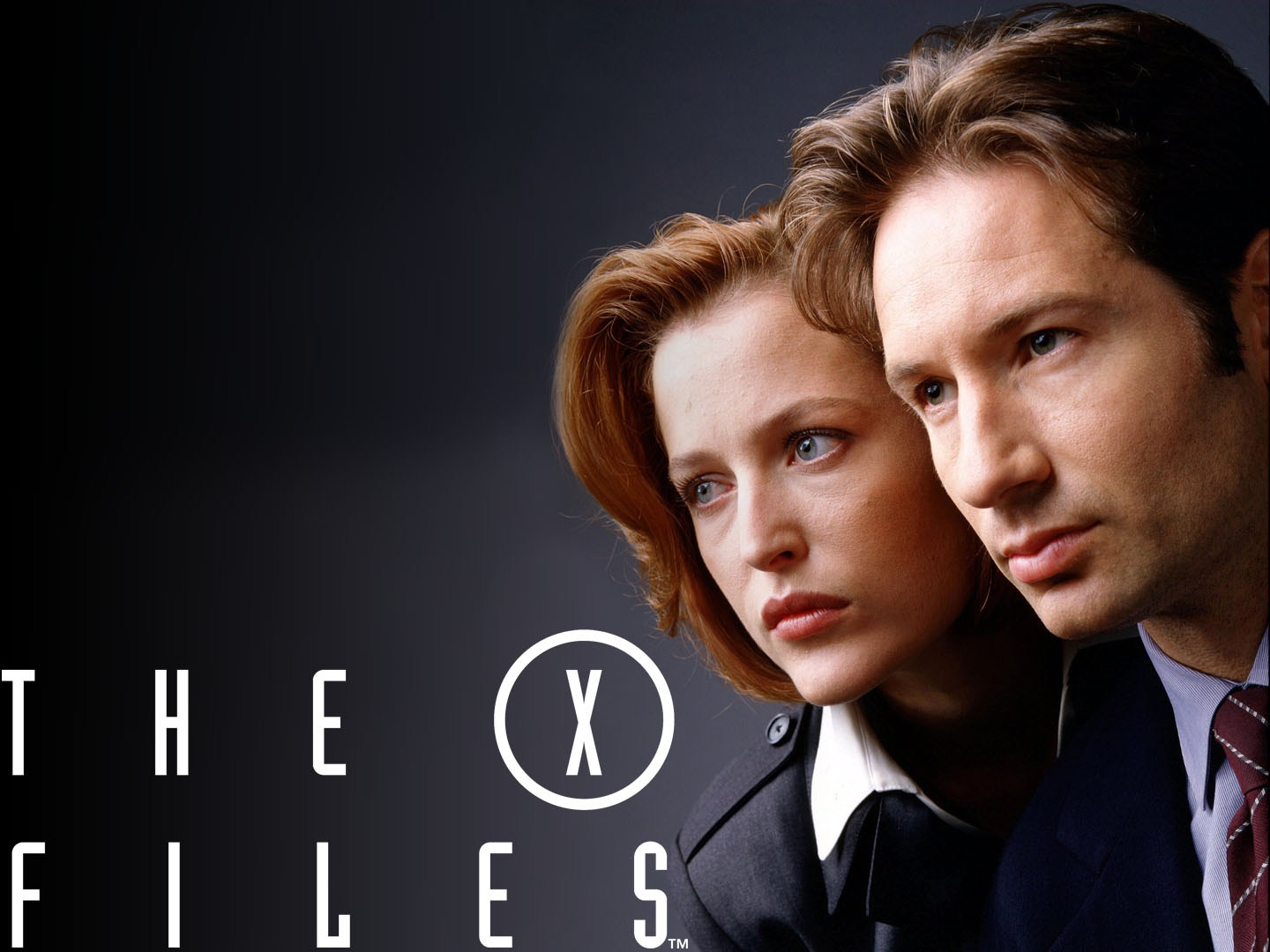Gillian Anderson (left) and David DuchovnyThe X-Files